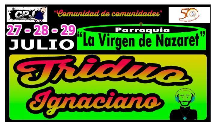 Triduo Ignaciano en El Agustino