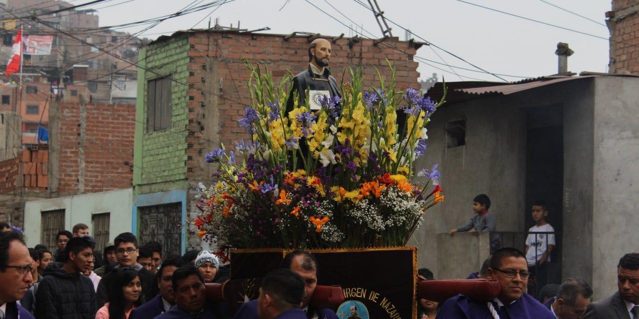"""Se celebró """"Triduo Ignaciano"""" en El Agustino"""