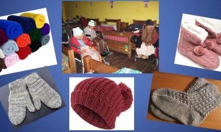 Campaña de donación frente al friaje en Ayacucho