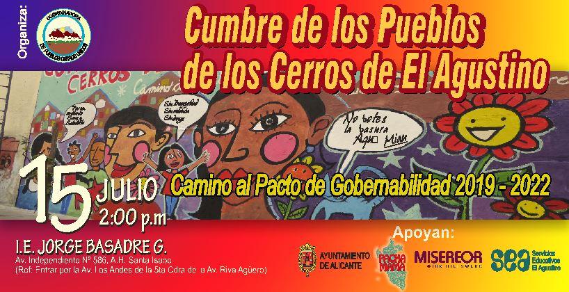 SEA: Cumbre de los Pueblos de los Cerros de El Agustino