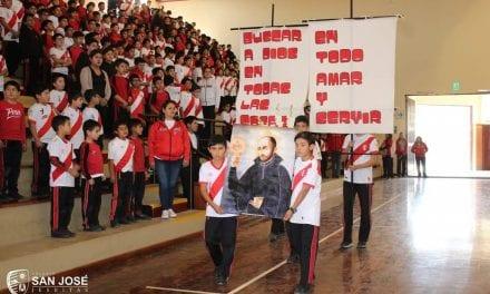 Colegio San José: Homenaje a la Patria y a San Ignacio