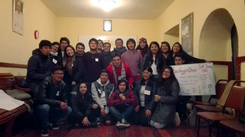 Cusco: Visita de directivos de MAGIS Perú