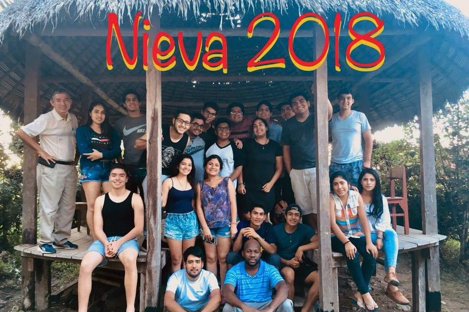 ´Jóvenes ignacianos viven el Voluntariado Nieva 2018