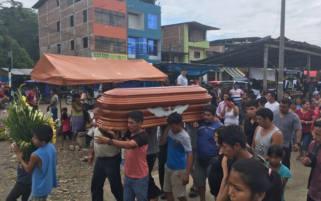 Funeral del P. Carlos Riudavets SJ en Chiriaco