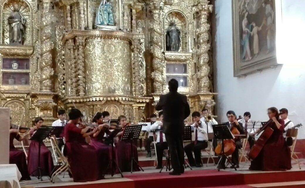 Plataforma Ayacucho organizó Concierto por los 450 años