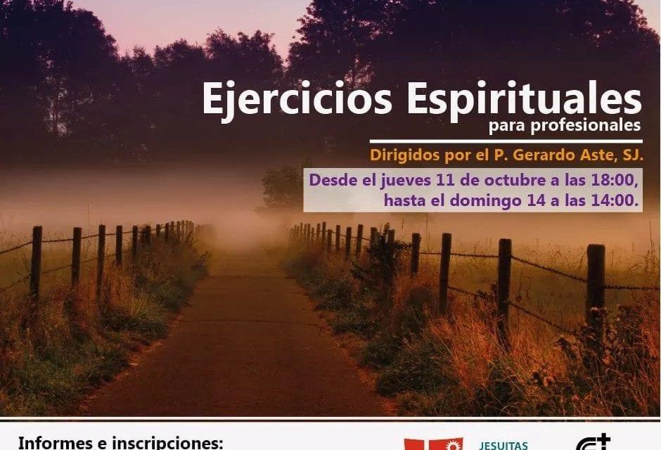 Ejercicios Espirituales con el P. Gerardo Aste SJ