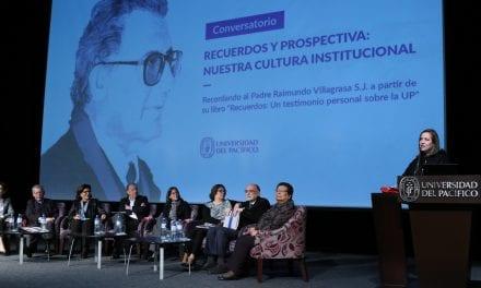 Universidad del Pacífico recordó la figura del P. Raimundo Villagrasa SJ