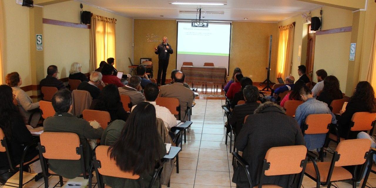 Encuentro entre la ODP y las obras jesuitas del Perú