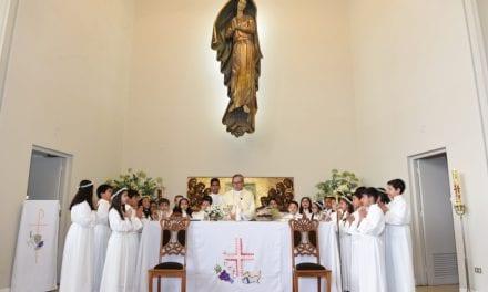Primera Comunión en el Colegio de la Inmaculada