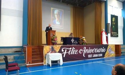 P. Manuel Díaz Mateos, SJ: Homenaje del ISET