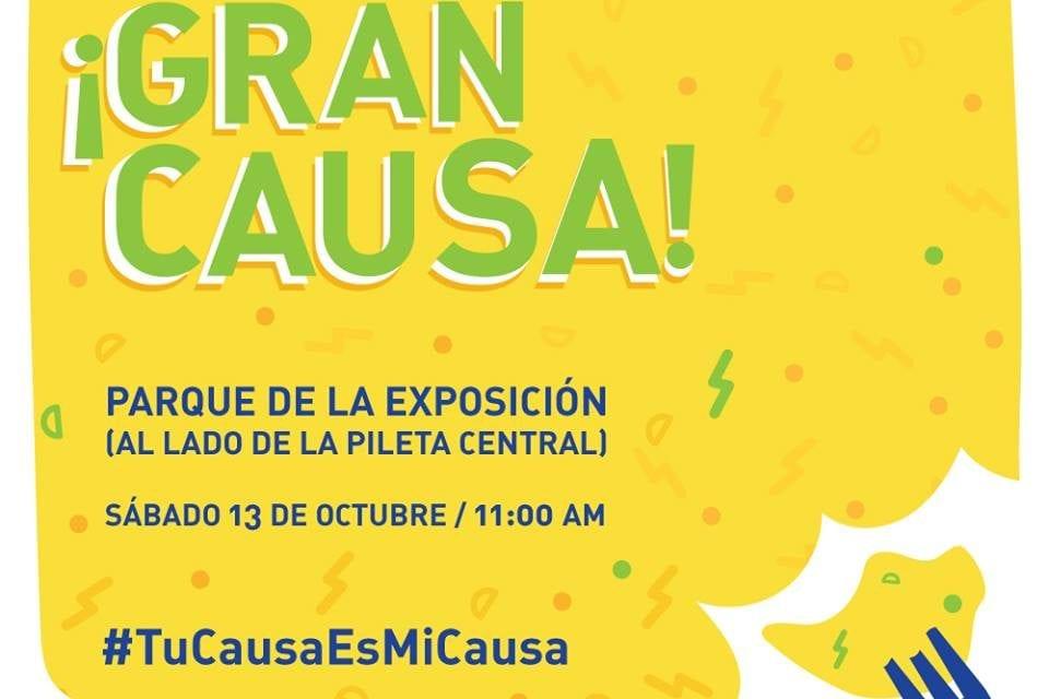 Lanzamiento de la Campaña #TuCausaEsMiCausa