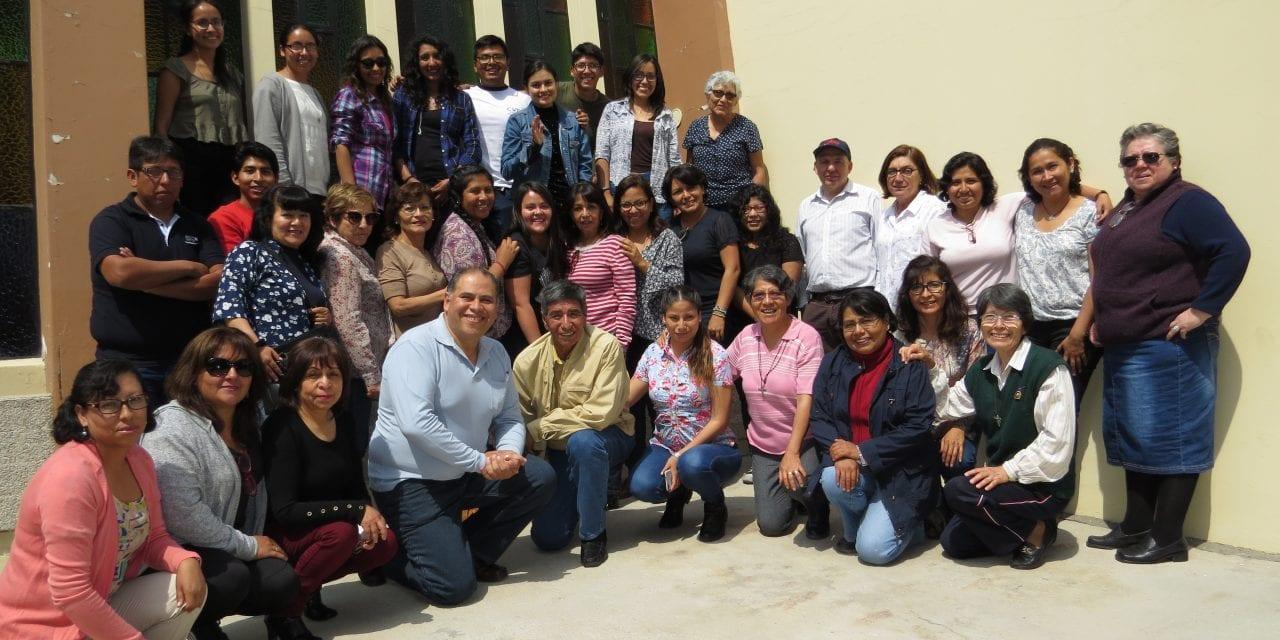 Colaboradores de la PAR Arequipa vivieron Taller de Discernimiento
