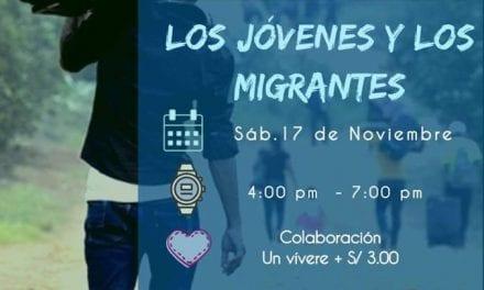 Centro Loyola Chiclayo organiza Conversatorio juvenil sobre migración