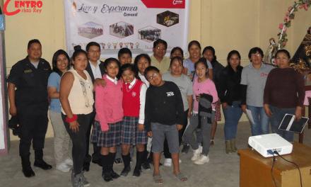 Centro Cristo Rey de Tacna participó en Mesa Comunal en Ilo