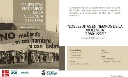 """Libro """"Los jesuitas en tiempos de la violencia"""" será presentado en Ayacucho"""