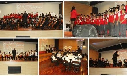 Colegio Cristo Rey celebró el Día de la Canción Criolla