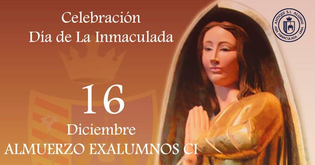 Celebración por el Día de la Inmaculada