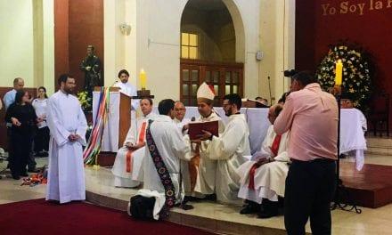 Ordenación diaconal de Pedro Velasco SJ en Chile
