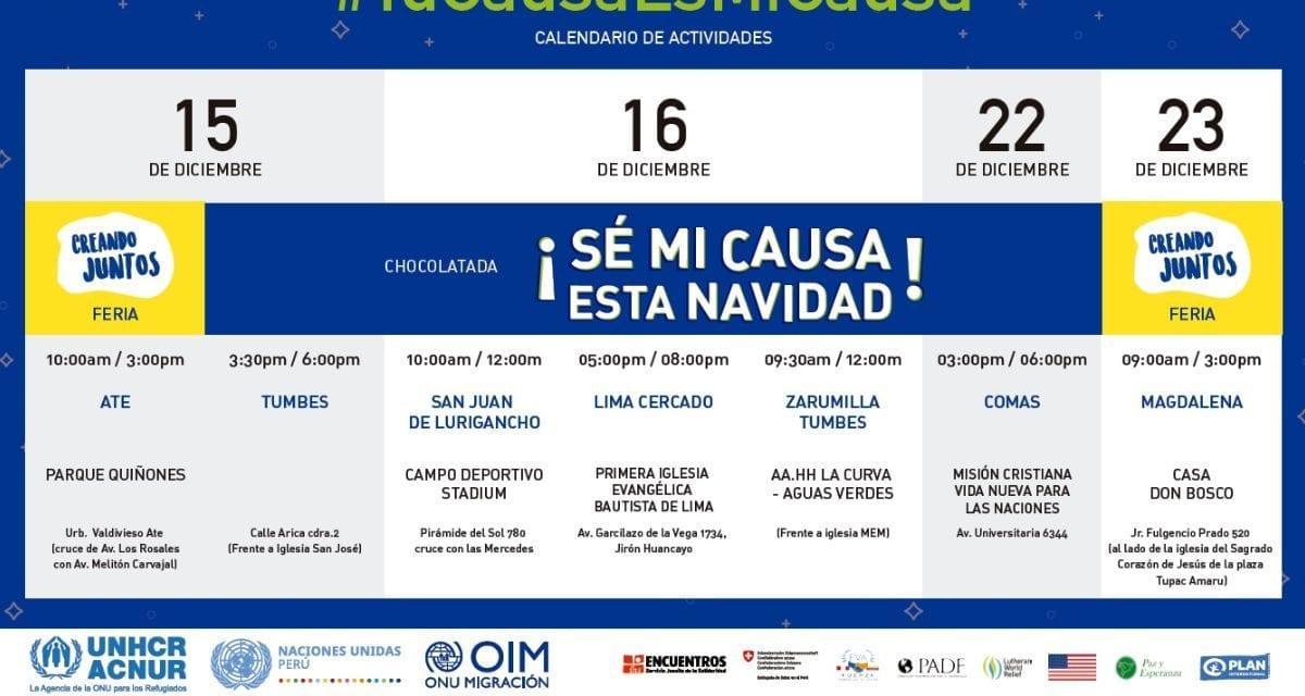Novedades Campaña #TuCausaEsMiCausa