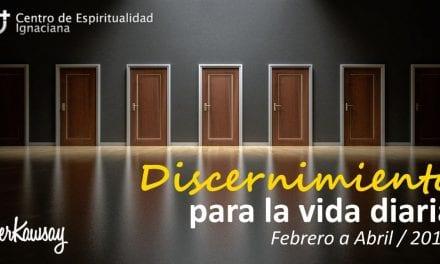 Taller de discernimiento para la vida diaria
