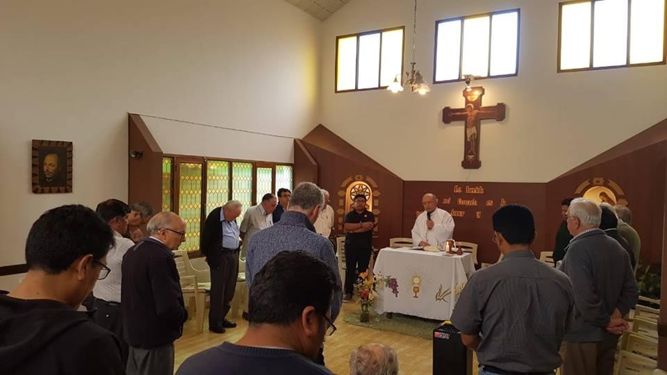 Cardenal Barreto dirigió Ejercicios Espirituales de la Provincia de Bolivia