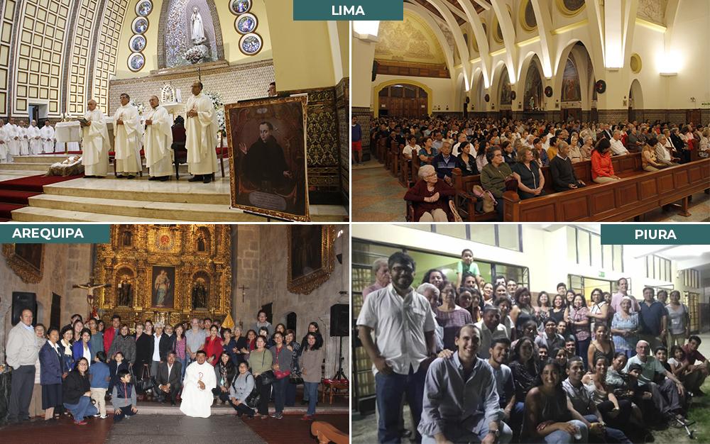 Eucaristías por la Fiesta Titular de la Compañía de Jesús