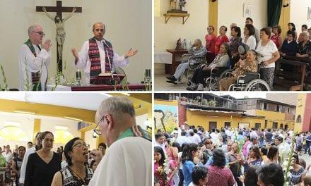 Parroquia La Virgen de Nazaret cerró las celebraciones por sus 50 años