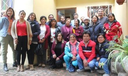 Delegación de la UARM visitó el Centro Loyola Ayacucho