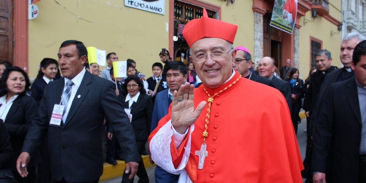 Cardenal Barreto tomará posesión de su título cardenalicio