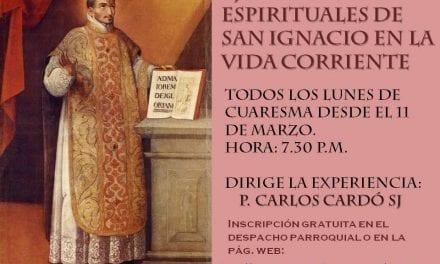 Ejercicios Espirituales de San Ignacio en la vida corriente