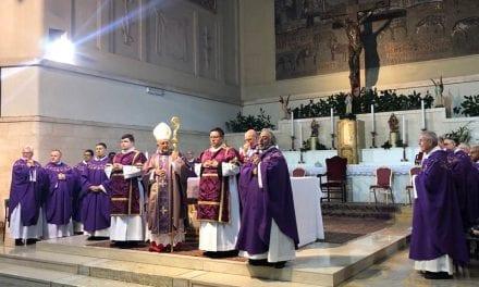 Cardenal Barreto toma posesión de la Basílica de San Pedro y San Pablo en la Via Ostiense