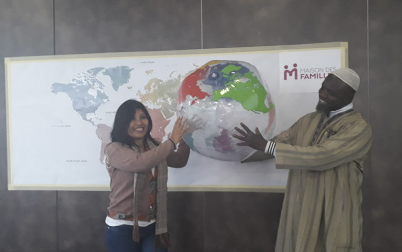 """Centro Cristo Rey: Preparando el Proyecto """"Via Familiis"""" en Francia"""