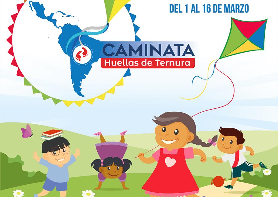 Caminata Huellas de Ternura llega al Perú