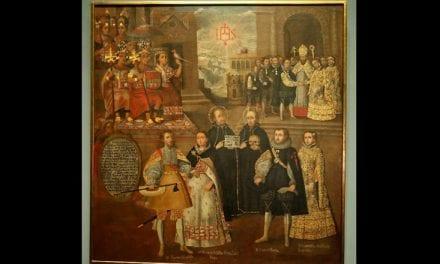 Pintura cusqueña vinculada a la historia jesuita es exhibida en Museo del Prado