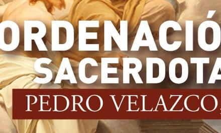 Ordenación Sacerdotal de Pedro Velazco SJ
