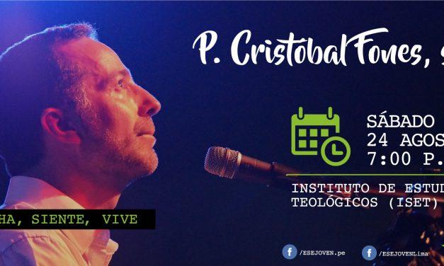 P. Cristóbal Fones SJ en concierto