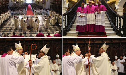 Ordenación Episcopal de Obispos Auxiliares de Lima