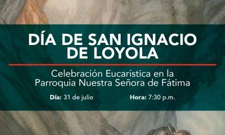 Eucaristía por la Fiesta de San Ignacio de Loyola