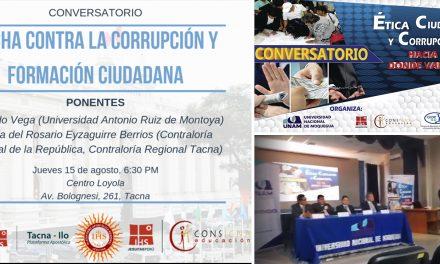 CONSIGNA organizó conversatorios en Tacna y Moquegua