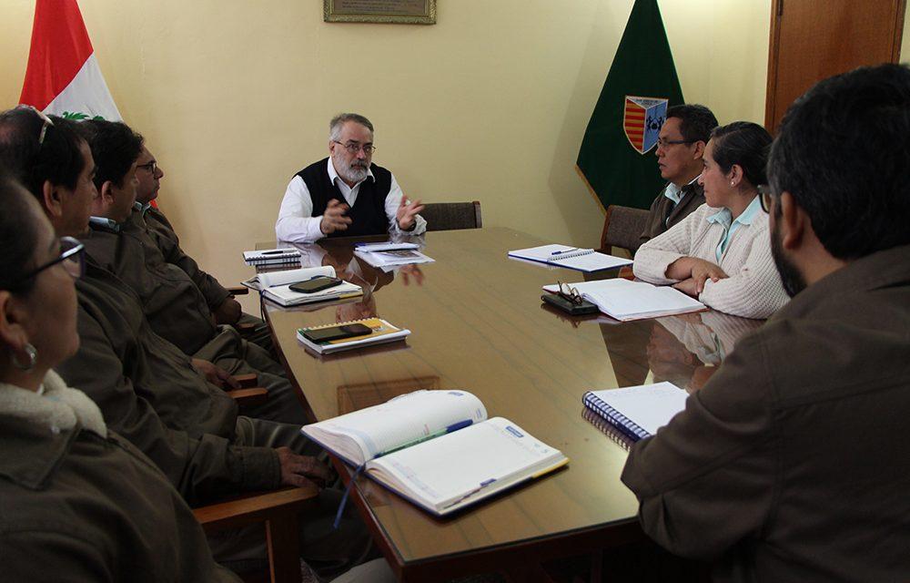 Asistente para América Meridional visita Provincia Peruana