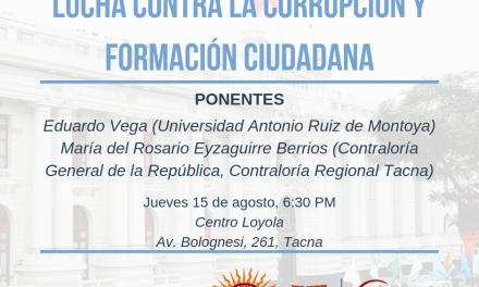 CONSIGNA organiza conversatorios sobre lucha anticorrupción