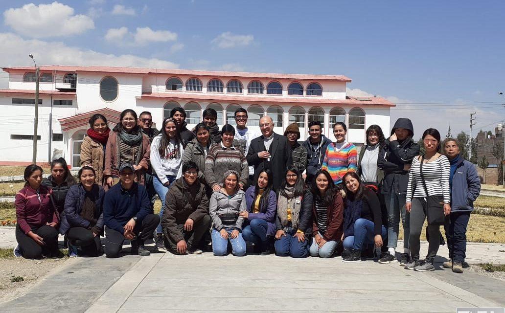 CAPU: Voluntariado de Invierno se realizó en Huancayo