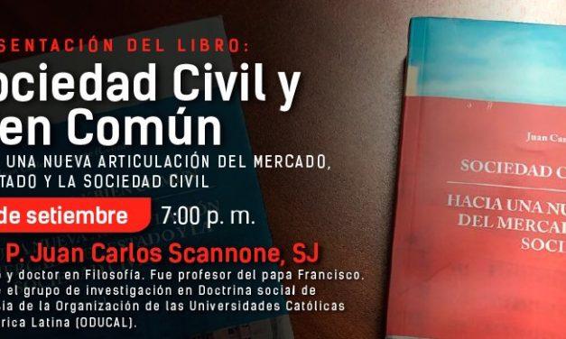 Presentación del libro Sociedad Civil y Bien Común