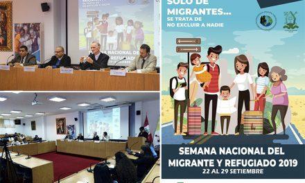 Semana Nacional del Migrante y del Refugiado 2019