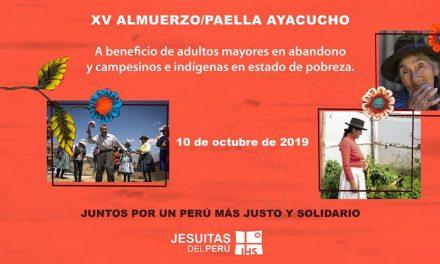 XV Almuerzo paella por Ayacucho