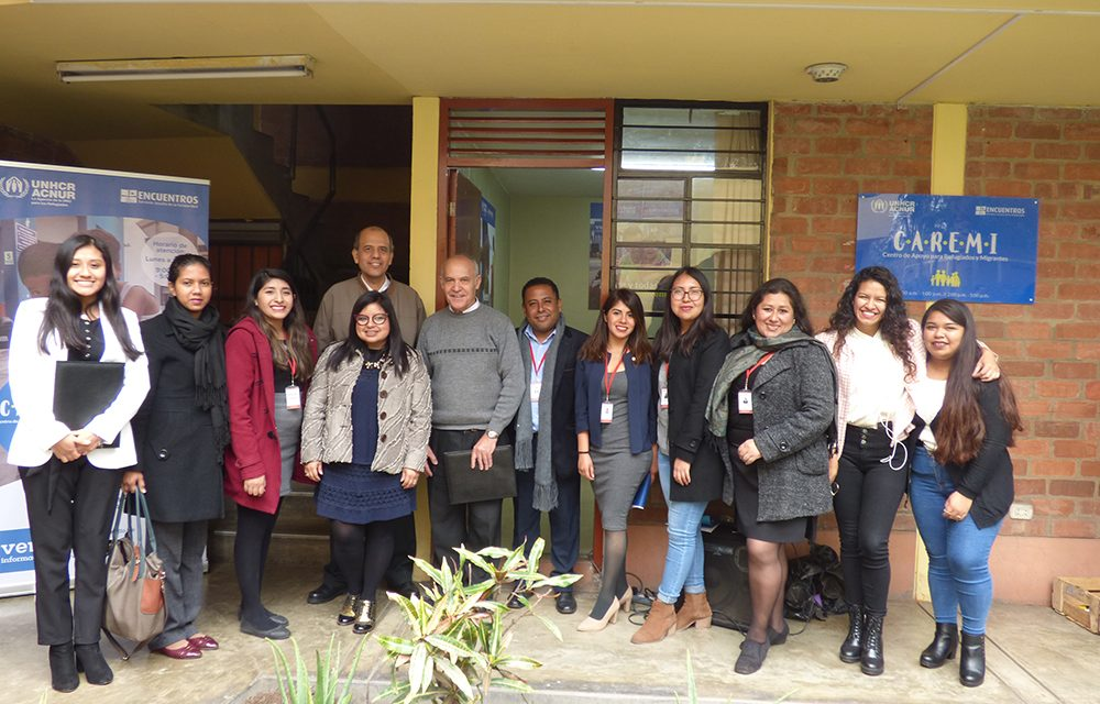 Encuentros SJS y ACNUR inauguran Centros de Apoyo para Refugiados y Migrantes