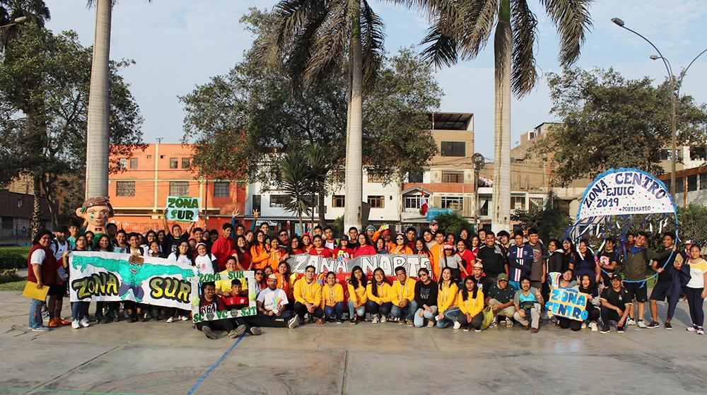 Se celebró el Encuentro Juvenil Ignaciano 2019 en El Agustino