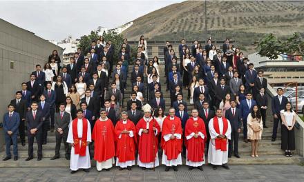 Confirmación en el Colegio de la Inmaculada