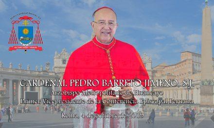 Reflexión desde Roma del Cardenal Pedro Barreto SJ