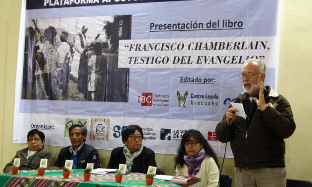 """""""Francisco Chamberlain, testigo del Evangelio"""" fue presentado en El Agustino"""
